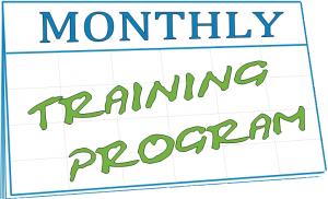 Monthly Training Program Logo