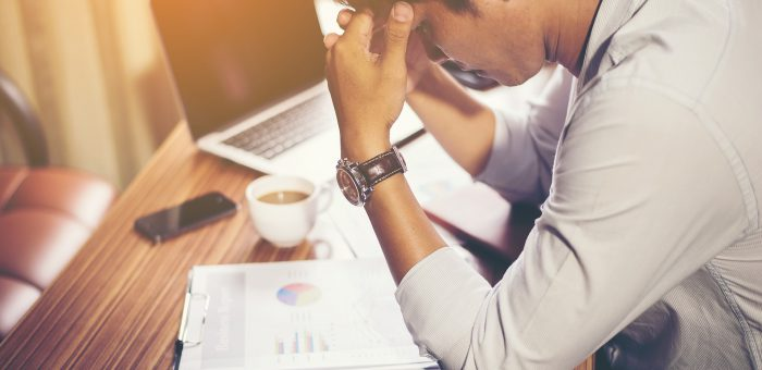 The frustration of working and losing money