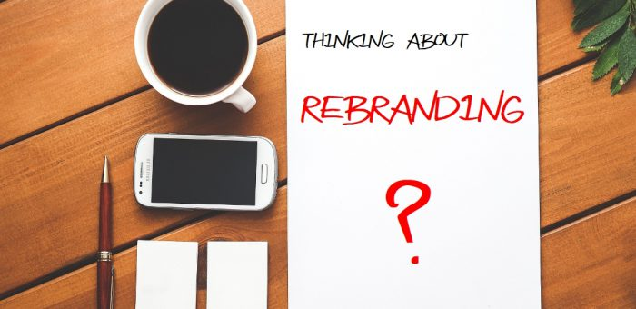 Thinking about Rebranding?